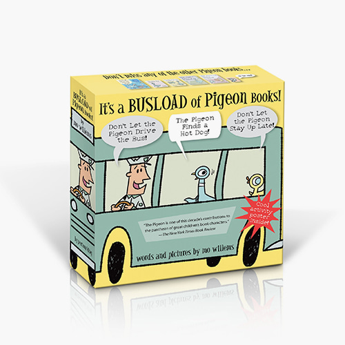 It's a Busload of Pigeon Books! (Pigeon) 미니 하드커버